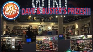 Dave & Buster's Prizes!!!