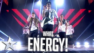 """Boyband are """"OUT OF THIS WORLD DANCERS"""" 