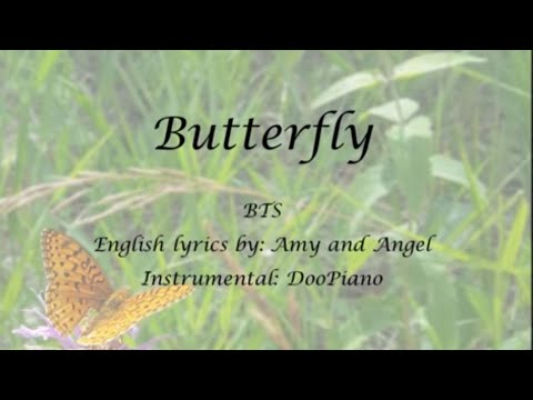 Butterfly (Prologue Mix) - English KARAOKE (Piano Instrumental) - BTS