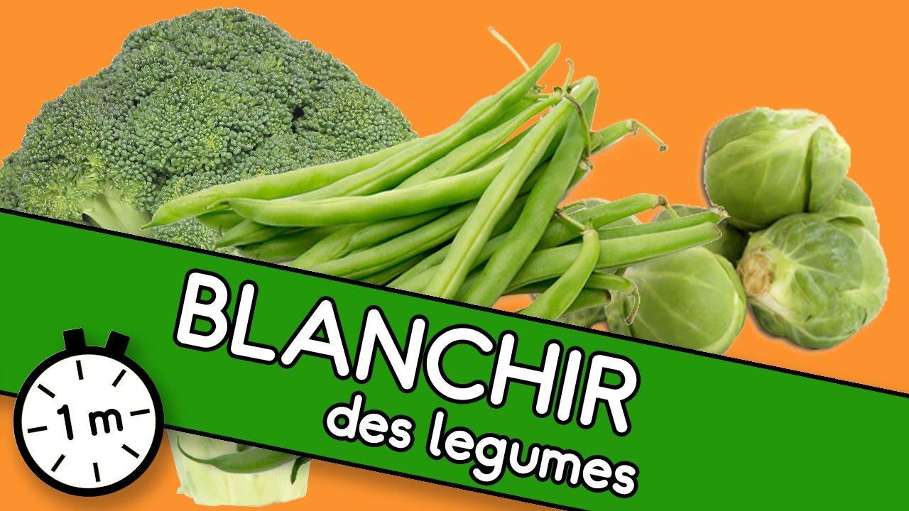 Blanchir les l gumes astuce youcook youtube - Blanchir legumes avant congelation ...