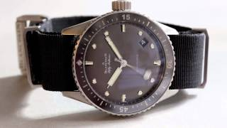 A Week On The Wrist: The Blancpain Fifty Fathoms Bathyscaphe
