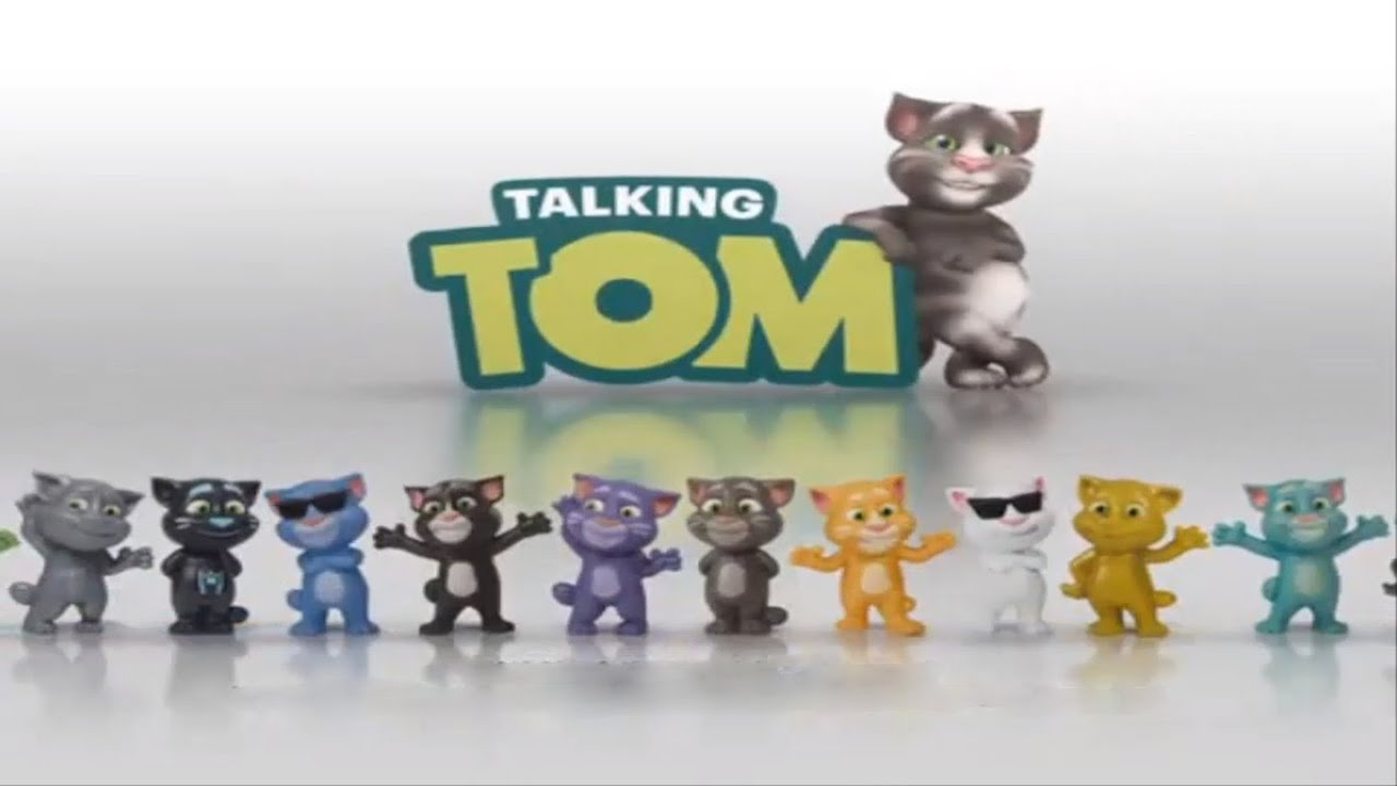 Best Of Happy Meal 2016 Talking Tom Toys In 5 Exciting Happy Meal