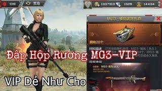 CF Mobile/CF Legends | Đập Hộp 25 Rương MG3-VIP Phoneix Hốt Ngay 1 Khẩu Về Kho | Tường Trần CFM