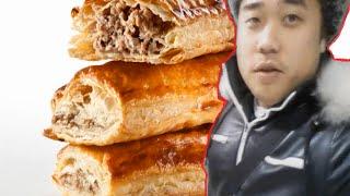 ☺♥asmr Eating Sounds - Sausage Roll (enjoy The Eating Haha)♥☺