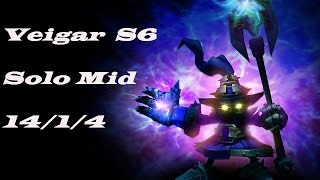 Veigar S6 solo mid