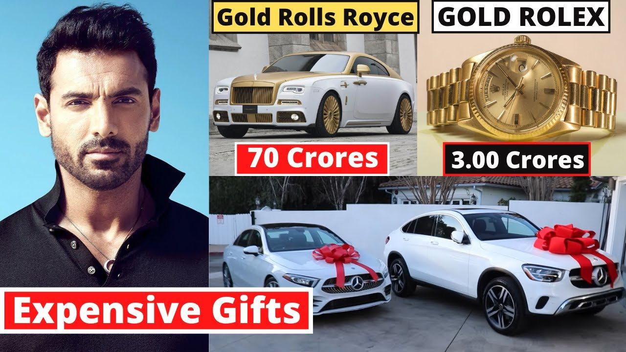 11 Most Expensive John Abraham's Birthday Gifts From Bollywood Actors 2020