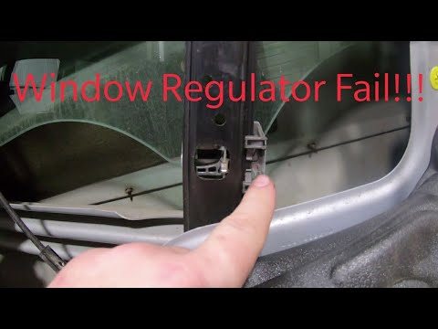 Replacing The Window Regulator In My Bmw X5 Youtube