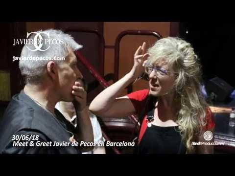 Javier de Pecos en Barcelona 30/06/18 Meet & Greet  - esmiradio.es