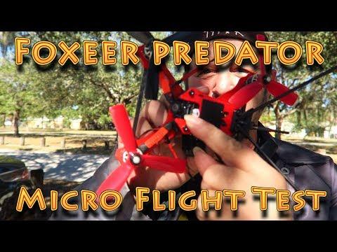 review: Foxeer Micro Predator Flight Test!!! (01.17.2018)