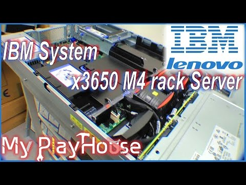 Unboxing a IBM System x3650 M4 rack Server - 029