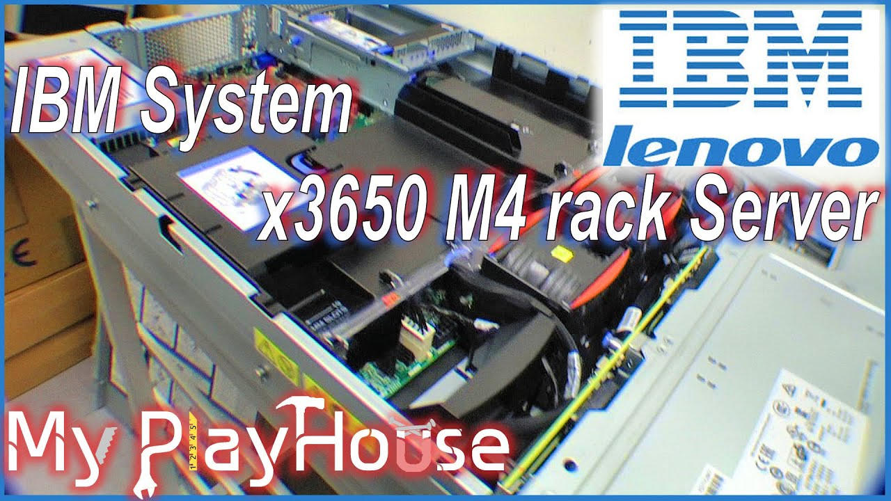 unboxing a ibm system x3650 m4 rack server 029