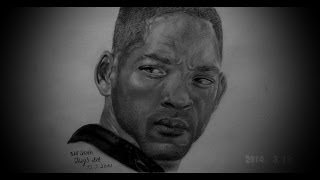 Lets Draw: Will Smith (I am legend) ♥