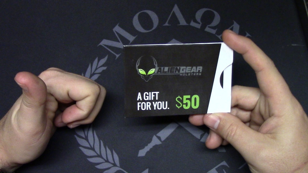 alien gear giveaway alien gear holsters 50 giftcard giveaway youtube 7484