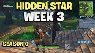 Secret Battle Star Week 3 Season 6 Location ! Fortnite Hunting Party Challenges !