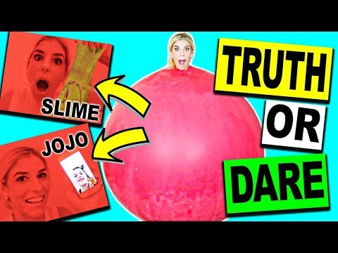 TRUTH OR DARE INSIDE A GIANT BALLOON CHALLENGE!!