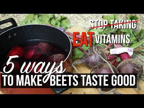 5 WAYS TO MAKE BEETS TASTE GOOD | SCCASTANEDA