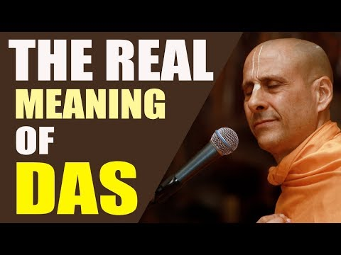 THE REAL MEANING OF DAS | HH RADHANATH SWAMI