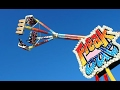 Florida State Fair - Freak Out Ride - 4k Video