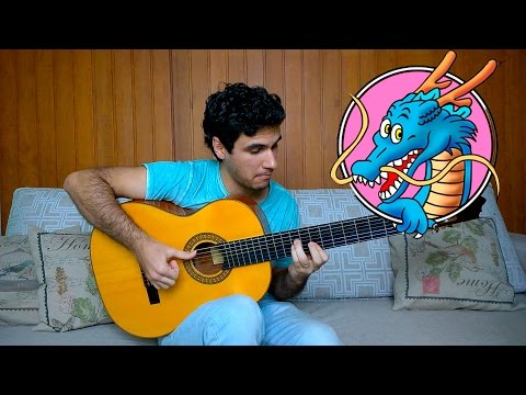 Dragon Ball Z theme song - Fingerstyle Guitar (Marcos Kaiser) #50