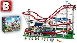 LEGO Roller Coaster Officially Announced! 10261 Creator Expert Set Over 4000 Parts!