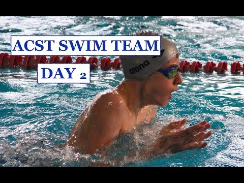 ACST ATHLETICS - MS & HS SWIM TEAM - ACS ATHENS INTERNATIONAL SWIMMING CUP 2018 - DAY 2 HIGHLIGHTS