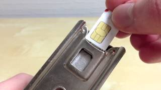 How to make your own giffgaff Nano SIM