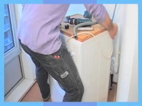 Genoeg Klusvideo Wasmachine aansluiten - YouTube QT18