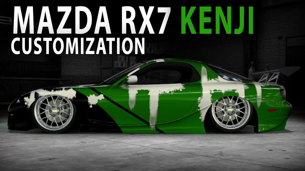 Nfs Carbon Cars Wallpaper Midnight Club La Mazda Rx7 Kenji Nfs Carbon