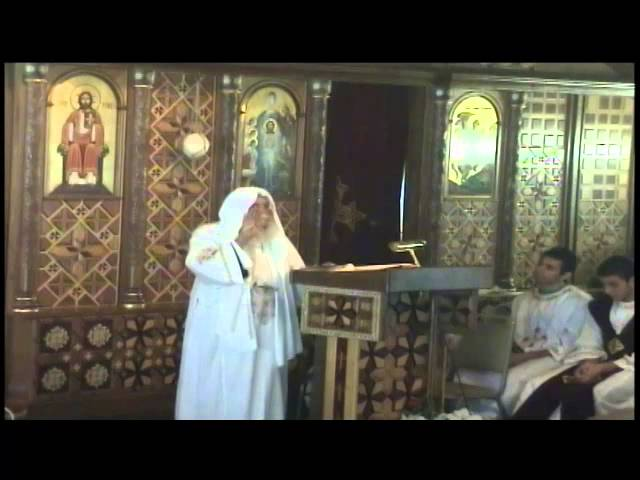 Liturgy with Abouna Boules October 2014