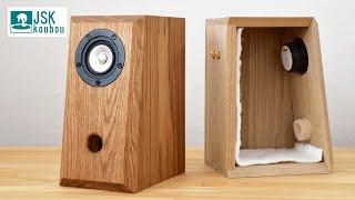 DIY wooden speaker & homęmade LM3886 amplifier
