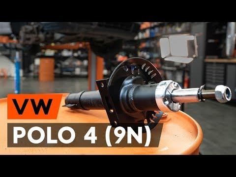 Как заменить стойку амортизатора передней подвески наVW POLO 4 (9N) [TUTORIAL AUTODOC]