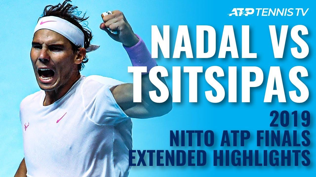 Rafael Nadal vs Stefanos Tsitsipas: Extended Highlights | Nitto ATP Finals 2019
