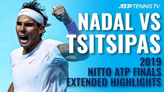 Extended highlights of a brilliant match between tsitsipas and nadal at the 2019 nitto atp finals ahead their 2020 clash...subscribe to our channel for t...