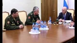 Николай Меркушкин провел рабочую встречу с командующим ЦВО