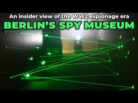 Inside the Spy Museum in Berlin (Germany)