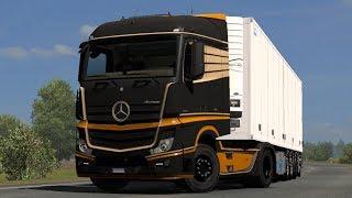 1.33 Euro Truck Simulator 2   Mercedes-benz Actros Mp4 Sound   Mods
