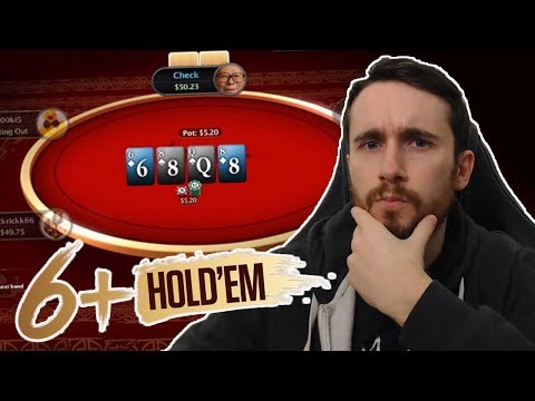 CAN YOU CRUSH POKERSTARS 6+ HOLD'EM?? Strategy + Gameplay & Hand Analysis