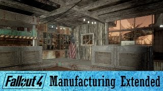 Fallout 4 Contraptions Conveyor Guide Part 2 | Manufacturing Extended Mod Guide