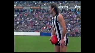 1989 VFL ( Now AFL ) Fitzroy v Collingwood Part 1 _ VFL Park Waverley