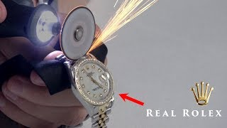 What's inside REAL vs FAKE Rolex?