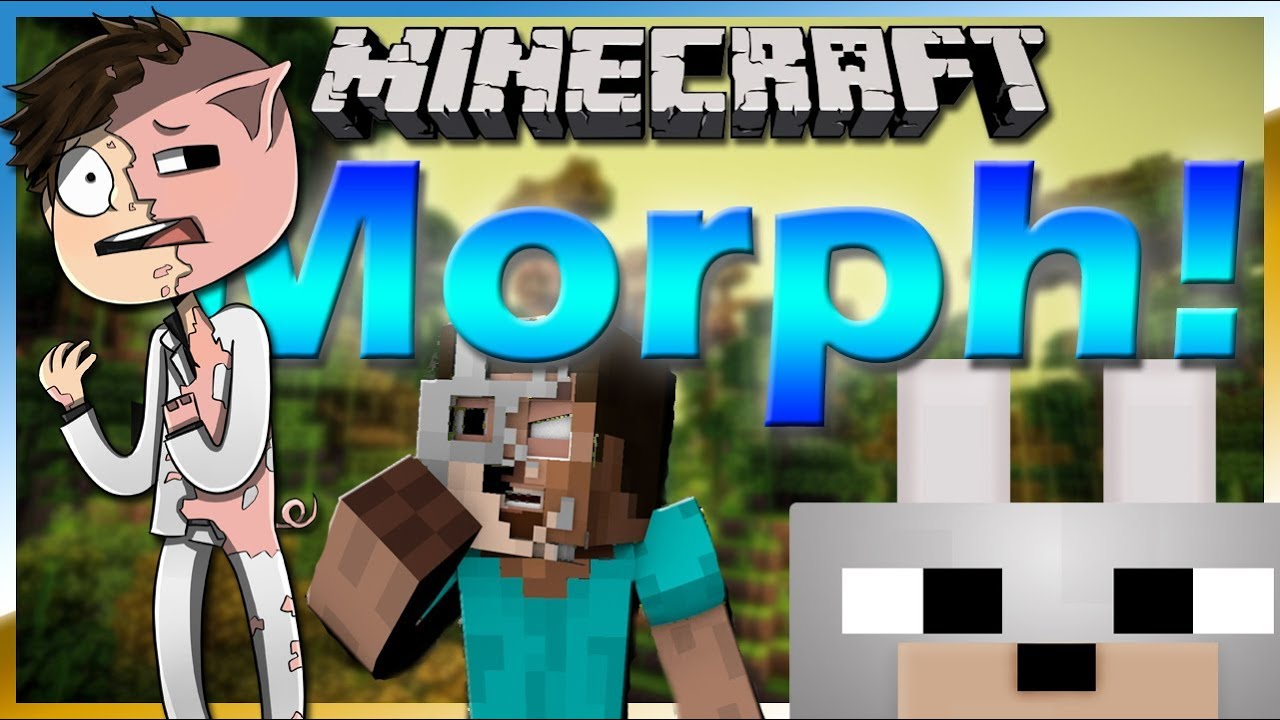 Morph v. 0. 9. 3 [1. 7. 10] (превращение в мобов) › моды › minecraft. Ru.
