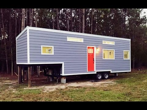 5TH WHEEL TINY HOUSE Is 35 Feet Long
