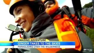 Ginger Zee Goes Paragliding