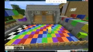 Minecraft Sheep Race! Kijk Ook Onze Andere Filmpjes! Voor Lol!