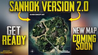 PUBG Mobile New Update Sanhok Map is getting a Redesign