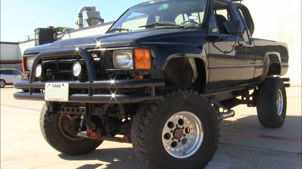 my 1986 toyota hilux pickup xtra cab 4x4 youtube. Black Bedroom Furniture Sets. Home Design Ideas