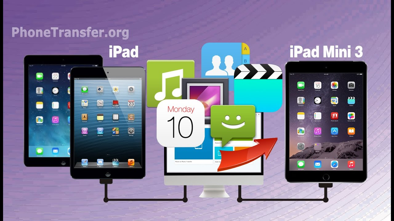 how to get files from ipad