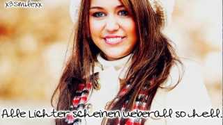 Download All I Want For Christmas Is You - Miley Cyrus (Deutsche Übersetzung) MP3 song and Music Video