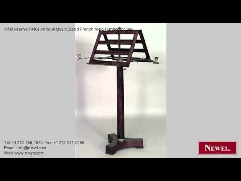 Art Moderne/1940s Antique Music Stand French Misc. Furniture