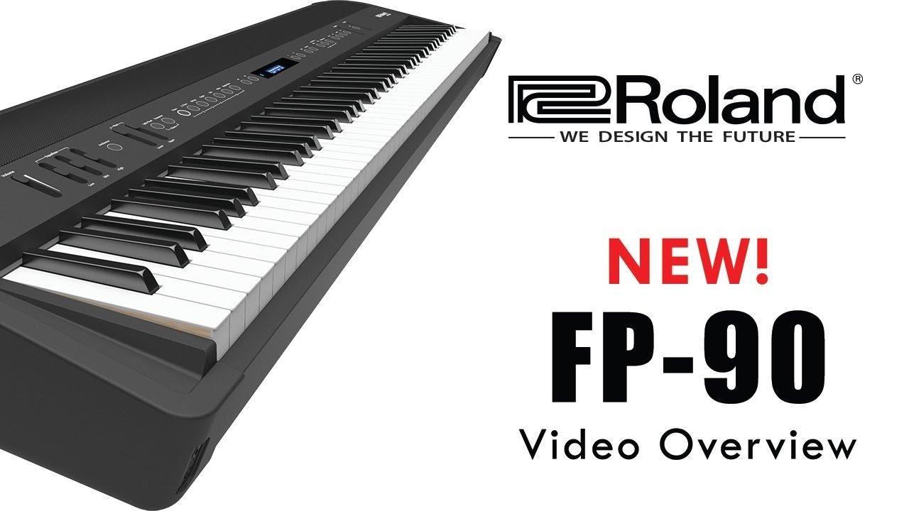 fp 90 roland digital piano 2018 youtube. Black Bedroom Furniture Sets. Home Design Ideas